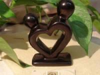 Coppia cuore nero
